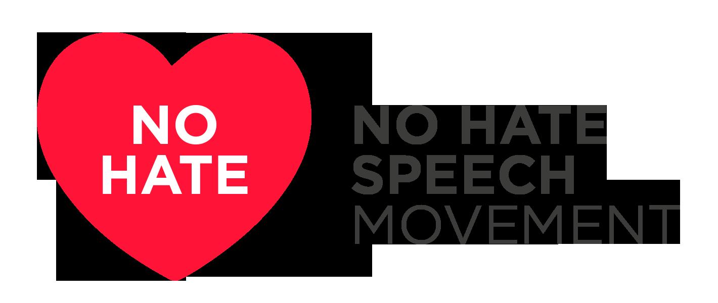 Risultati immagini per no hate logo